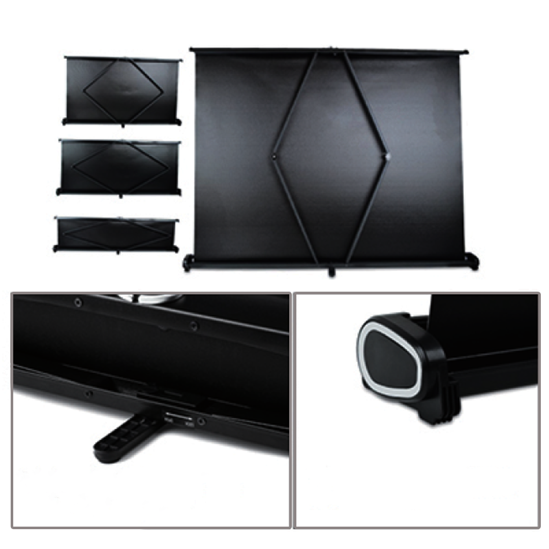 Portable 40 Inch Table Top Screen