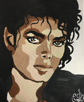 Michael Jackson Paint By Numbers DIY Paint & Sip Kit
