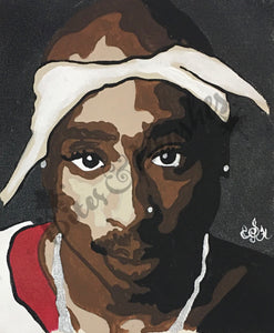 2Pac/Tupac Paint By Numbers DIY Sip & Paint Kit