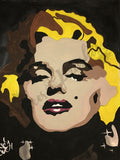 Marylin Monroe Paint By Numbers DIY Paint & Sip Kit