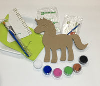 Unicorn painting kit, DIY Unicorn Paint Party, Wooden Unicorn Craft Kit, Unicorn Craft Kit For Girls, Birthday gift for girls, Christmas gift for girls, DIY Christmas gift, DIY birthday gift.