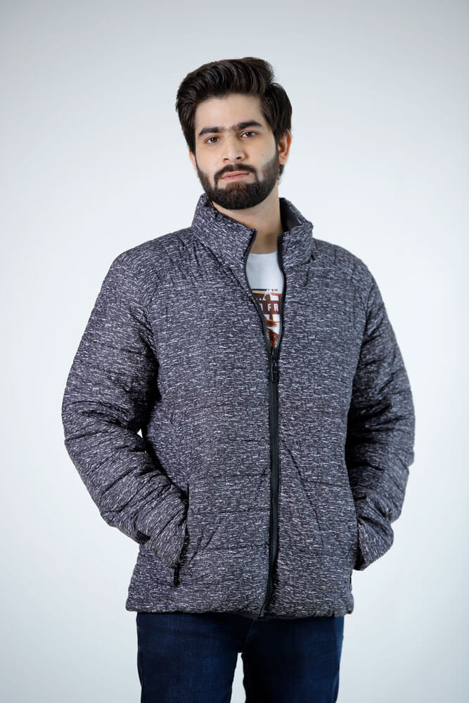Quilted Bomber Concrete