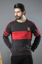 Black Red Sweat Shirt