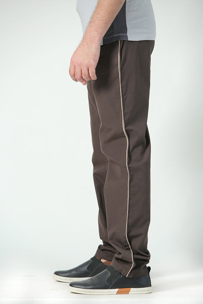 Brown Easy wear Trousers