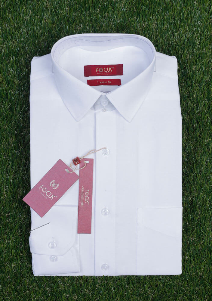 Executive White Dress Shirt