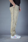 Beige Easy Wear Trouser