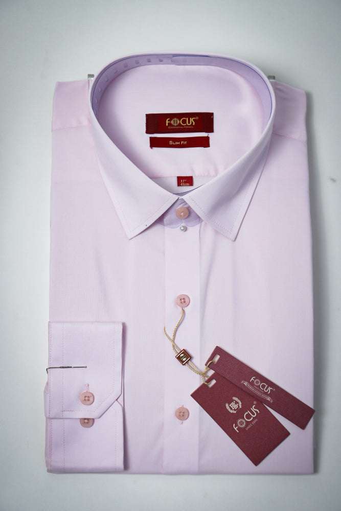 Plain PInk Dress Shirt