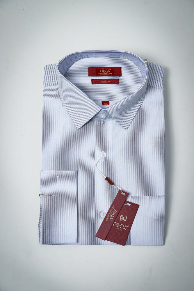 White linling Dress Shirt DOUBLE CUFFS