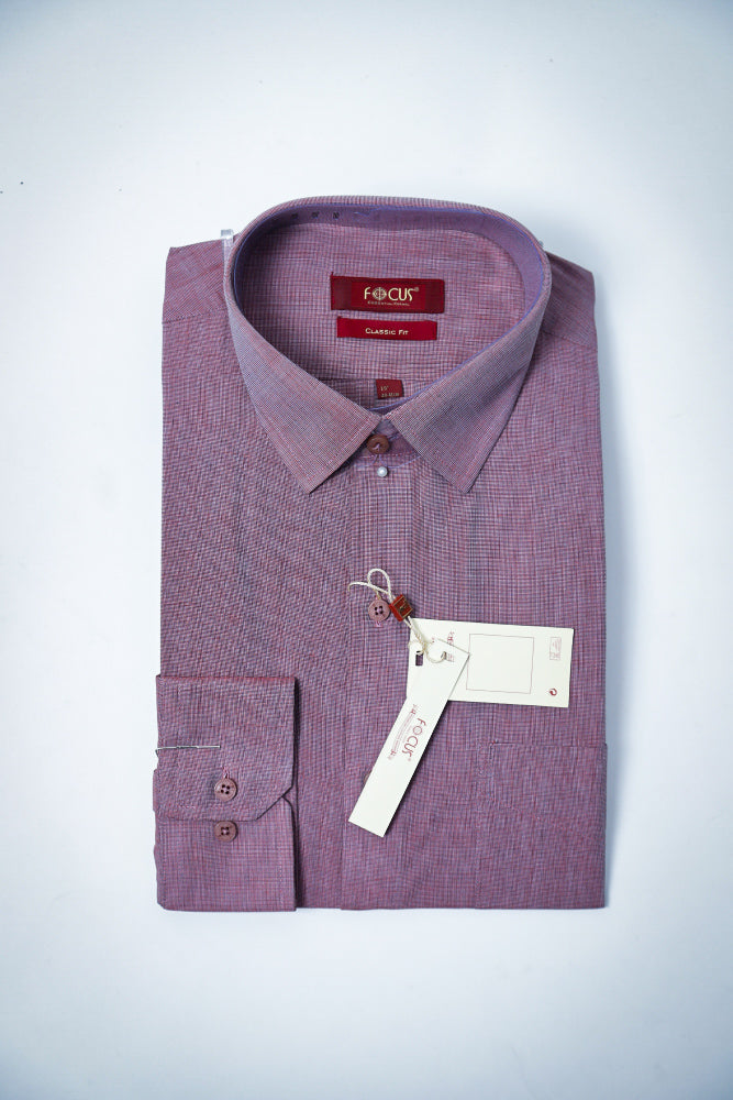 Self Light Plum Dress Shirt