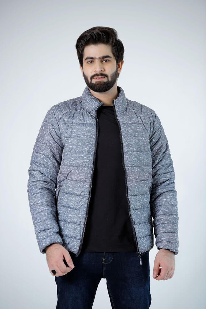 Quilted Bomber Sil