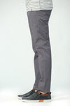 Grey Cotton Chinos