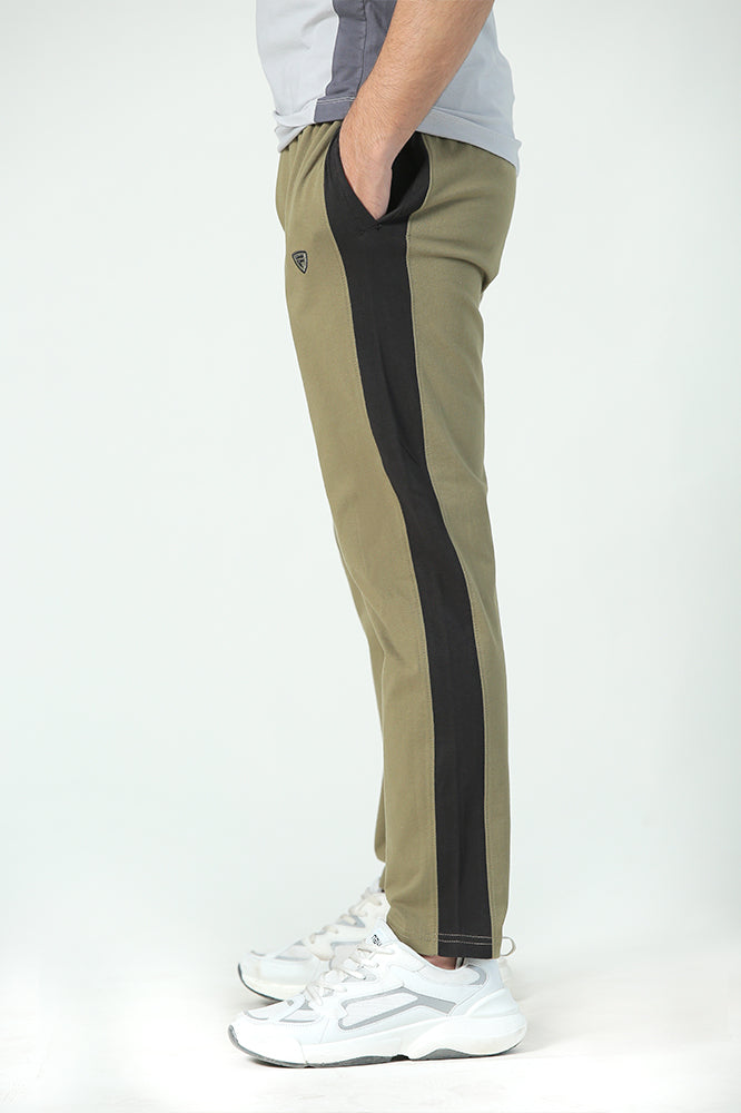 Green Jersey Trousers