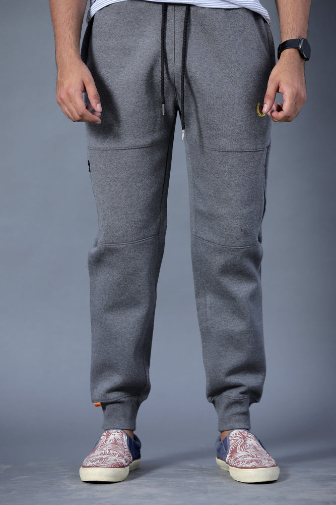 Gray Jogging Trousers