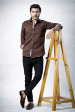 Chocolate Brown Casual Shirt