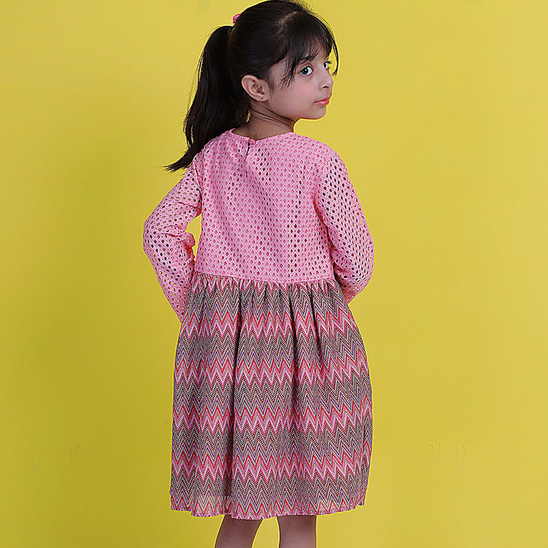 Net Frock - Mini Girls