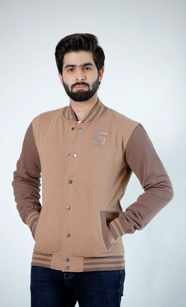 Brown Baseball Jacket