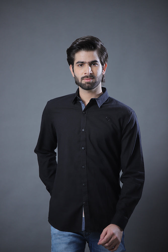 Oxford Black Shirt