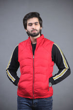 Red Puffer Gillet