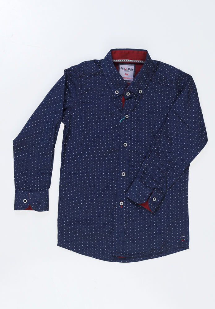 Dotted Shirt - Mini Boys