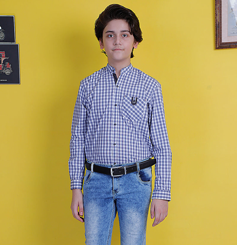 Check Shirt - Mini Boys