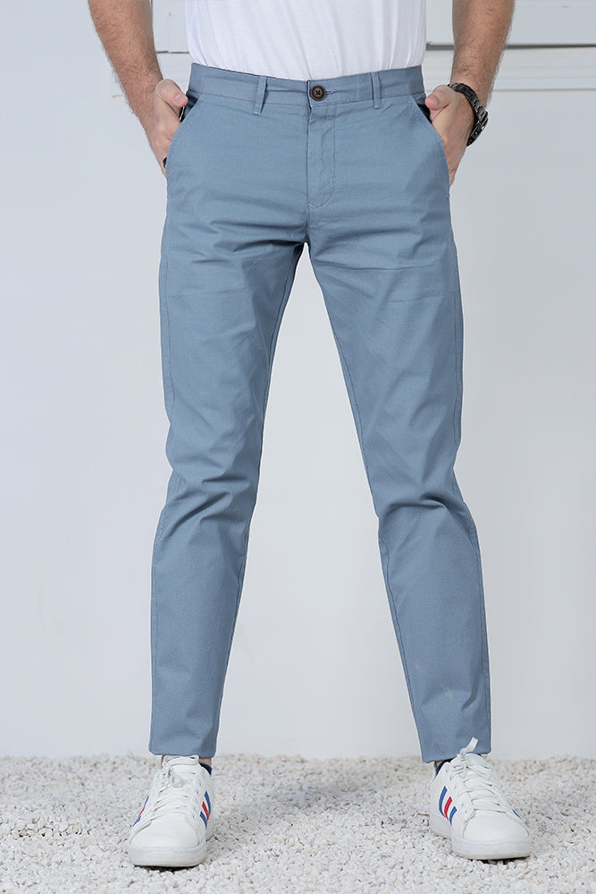 Slate Blue Chino Pants
