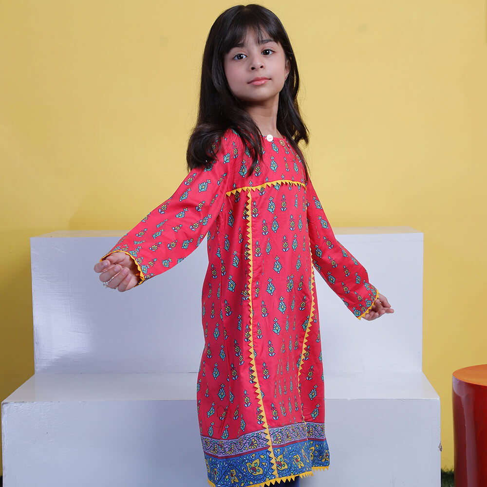 Printed Shirt - Mini Girls