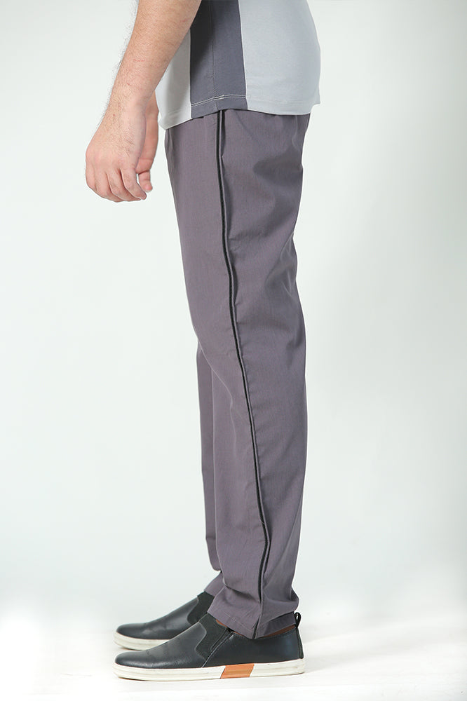 Grey Easy wear Trousers