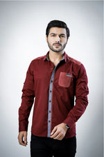 Blood Red Casual shirt