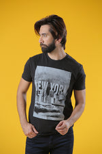 Graohic Tee New York Black