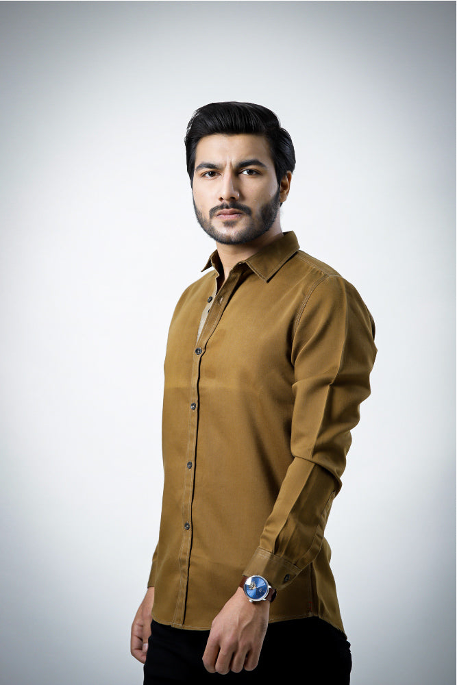 Suger Brown Casual Shirt