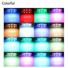 Load image into Gallery viewer, EEEkit (8-Pack) LED Rock Lights Kit , Waterproof Multi Color Truck Bed LED  Car Lighting RGB With Remote Control,  fit for Off road vehicle, ATVs, Trains, Boat, Marine, Bus