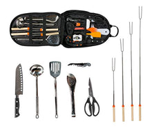 Load image into Gallery viewer, GATLING, CO. 21-Piece Camping Cookware Set - Portable Camping Kitchen Utensils
