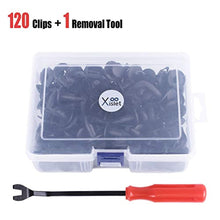 Load image into Gallery viewer, Xislet 120 PCS UTV Nylon Fender Clips/Body Rivets Replace for Polaris Ranger RZR Kawasaki Teryx Honda 90653-HC4-900 Pioneer Suzuki Sportsman ATVS Fastener Rivets 7661855 with Remover
