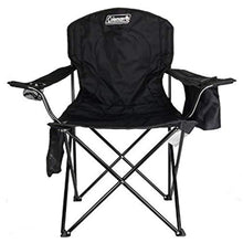 Load image into Gallery viewer, Coleman Portable Camping Quad Chair with 4-Can Cooler