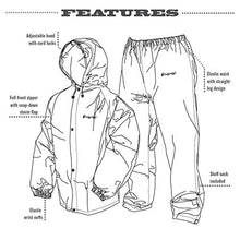 Load image into Gallery viewer, Frogg Toggs Pro Lite Water-Resistant Rain Suit