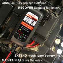 Load image into Gallery viewer, MOTOPOWER MP00205A 12V 800mA Automatic Battery Charger Maintainer