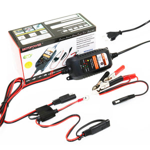 MOTOPOWER MP00205A 12V 800mA Automatic Battery Charger Maintainer