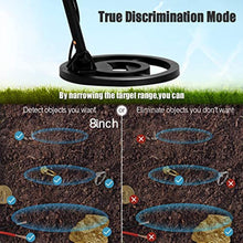 Load image into Gallery viewer, SUNCOO Metal Detector for Kids & Adults - High Accuracy Gold Detector with Waterproof Coil, LCD Display, Adjustable Height, Shovel & Headphone for Outdoor Treasure Hunting Detecting