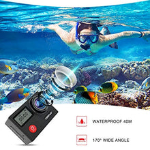 Load image into Gallery viewer, Campark X20 Action Camera Native 4K Ultra HD 20MP with EIS Stablization Touch Screen Remote Control Waterproof Camera 40M 2 Batteries and Professional Accessories Compatible with gopro