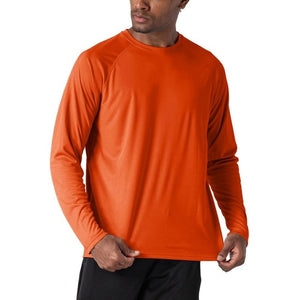 WOLFONROAD Outdoor Anti-UV Quick Dry Men's UPF 50 Long Sleeve