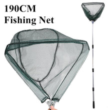 Load image into Gallery viewer, 190cm 130cm 55cm Telescopic Landing Net Folding  Fly Fishing