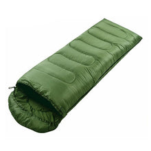 Load image into Gallery viewer, Portable Lightweight Envelope Sleeping Bag with Compression Sack