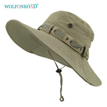 Load image into Gallery viewer, WOLFNROAD  Summer Sun-Protective Cap Men's  Fishing Hat