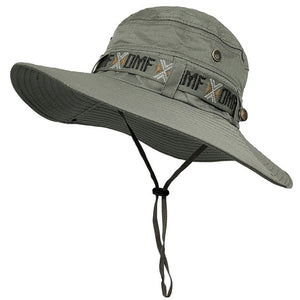 WOLFNROAD  Summer Sun-Protective Cap Men's  Fishing Hat
