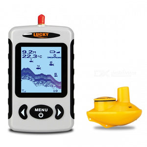LUCKY FFW718 Wireless Portable Underwater 45m/135FT Sonar Fish Finder