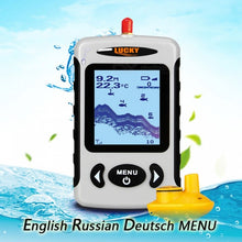 Load image into Gallery viewer, LUCKY FFW718 Wireless Portable Underwater 45m/135FT Sonar Fish Finder