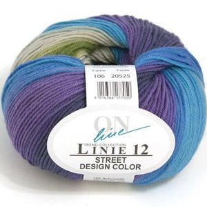 Linie 12 Street Design Color by ONline