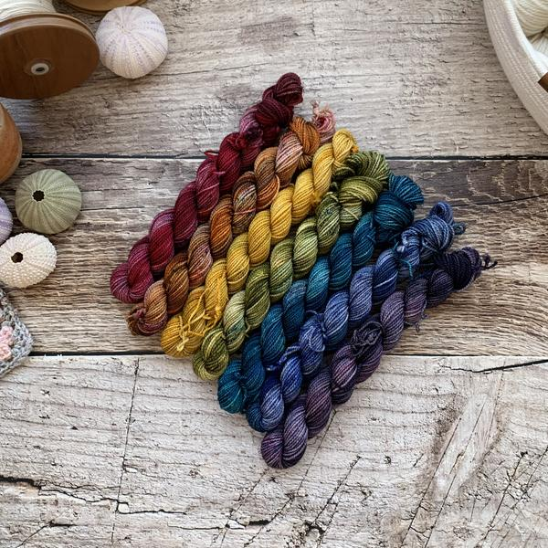 Nimble Sock Mini Skein Set by ontheround