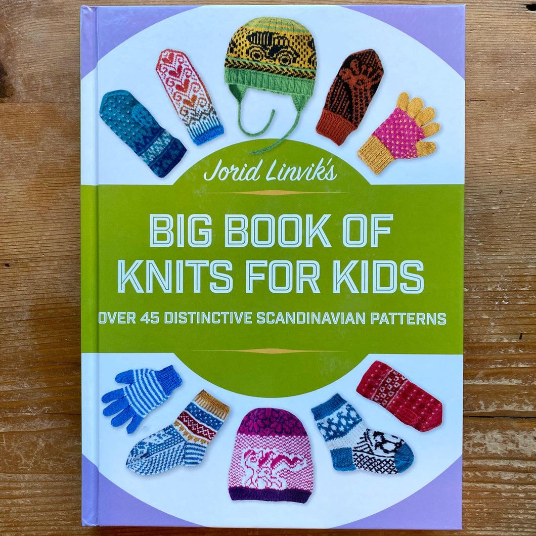 Big Book of Knits for Kids by Jorid Linvik