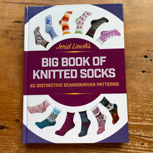 Big Book of Knitted Socks by Jorid Linvik